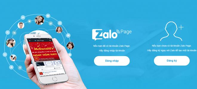 Zalo Page với nhiều tính năng hữu ích hỗ trợ cho công việc kinh doanh