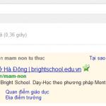 Trường mầm non Bright School -Hà Đông, Hà Nội