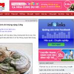 Quảng cáo GDN của Infolinks trên Tienphong.vn