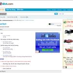 Quảng cáo GDN của Infolinks trên Vdict.com