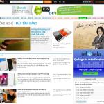 Quảng cáo GDN của Infolinks trên Zing.vn