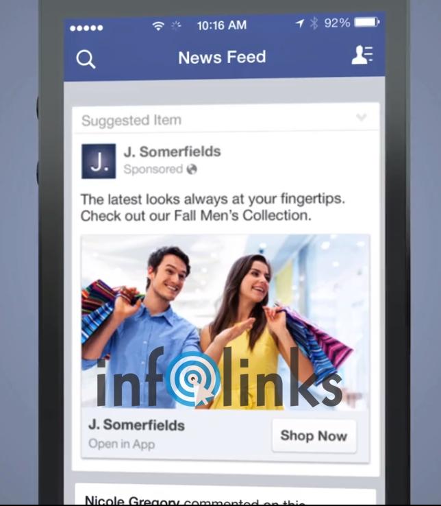 Bạn có thể quảng cáo để NHẮC người dùng mở lại ứng dụng mua sắm sản phẩm