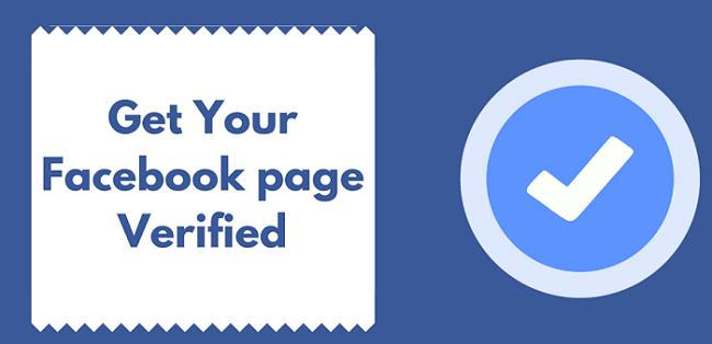 Xác minh dấu tích xanh cho Facebook Page