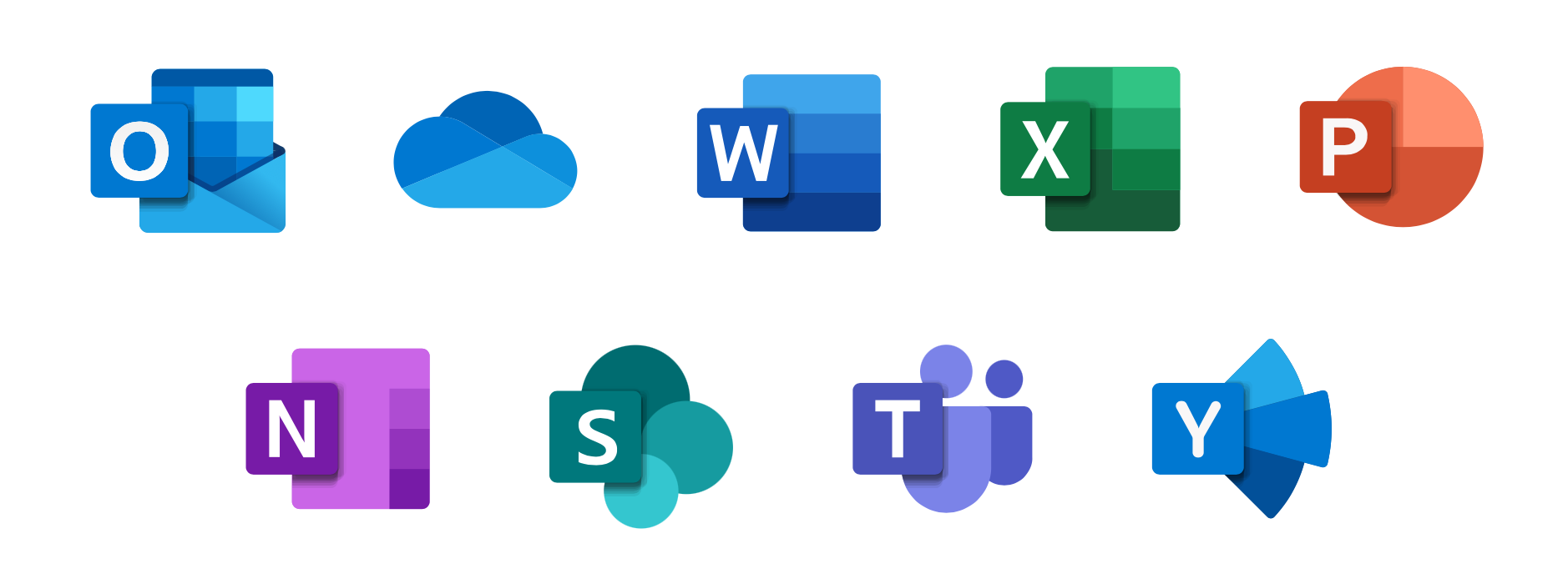 Các công cụ chính trong bộ Microsoft 365 dành cho doanh nghiệp